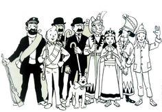 Tintin par Franklin