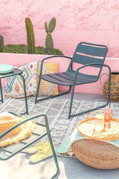 Fauteuil Janti - SKLUM Outdoor Chairs, Outdoor Furniture, Outdoor Decor, Restaurants, Sun Lounger, Home Decor, Garden, Acapulco, Industrial Style