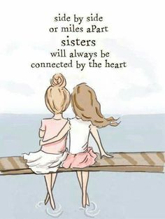 Toi et moi ma soeur..... Tellement! :) merci xx