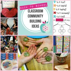 I Teach. What's your super power?: Classroom Community Building--- beginning of school
