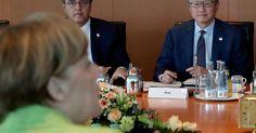 Jetzt lesen: Pressekonferenz mit Angela Merkel - Kanzlerin trifft sich mit Weltwirtschaftsbossen: So soll sich die Welt wieder erholen - http://ift.tt/2oZA21q #nachrichten