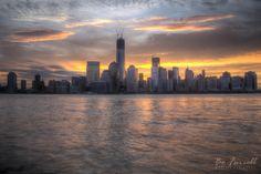 New York Sunrise Nyc Skyline, New York City, Sunrise, Amazing, Pictures, Photography, Travel, Beautiful, Design