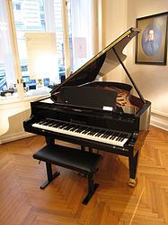 I so very much want a baby grand piano that has its very own room with a window overlooking some beautiful view.