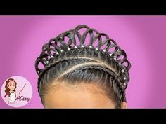 New ideas for hair styles for kids afro Baby Girl Hairstyles, Dance Hairstyles, Kids Braided Hairstyles, Princess Hairstyles, Curly Hair Styles, Natural Hair Styles, Competition Hair, Kid Braid Styles, Crazy Hair Days