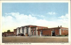 Grand Island NE Union Pacific Station