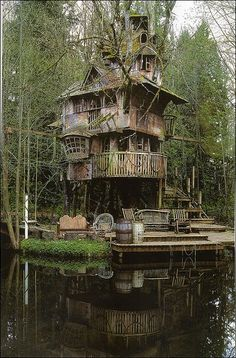 Treehouse?  Houseboat?