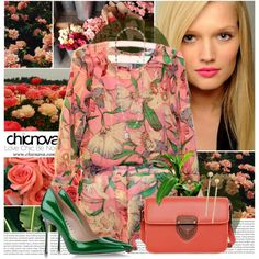 Tropical Day by bklana on Polyvore