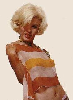 Marilyn Monroe photographed by Bert Stern