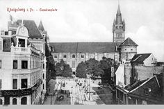 Bildergebnis für Königsberg, Oberteich mit Blick auf den Wrangel
