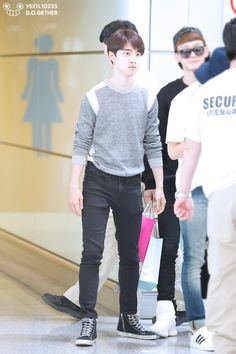 D.O.   140920 Beijing Airport arrival from Gimpo Airport