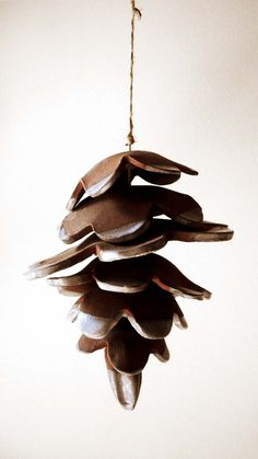 ceramic pine cone wind chimes - Google Search