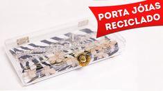 DIY: Como Fazer Porta Jóias Reciclado - Artesanato Com Caixa de Bombom, ...