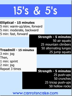15's & 5's Full Body Workout