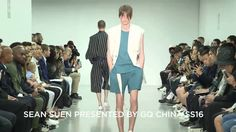 SEAN SUEN presented by GQ CHINA SS16 at London Collections Men