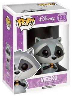 Meeko Vinyl Figure 198 - Funko Pop! van Pocahontas