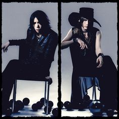 Aoi and Uruha.