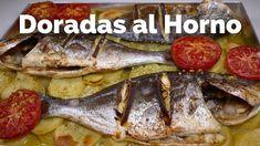 Doradas al Horno / RECETA CASERA / Ricas y Fáciles de hacer | French Toast, Meat, Chicken, Breakfast, Food, Youtube, Homemade Recipe, El Dorado, Essen