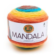 Lion Brand Mandala Yarn Thunder Bird Color Gradient Yarn