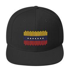 Linea de Bandera Venezuela Snapback, Venezuela Flag, Baseball Hats, Wallpapers, Disney, Vinyls, Caps Hats, Sweetie Belle, Blue Prints