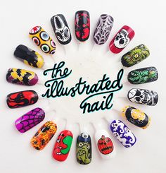 theillustratednail:  HAPPY HALLOWEEN FROM THE ILLUSTRATED NAIL!