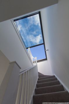 The large glazed sections of the box #skylight ensure that the interior of the triplex is flooded with natural light during the day.