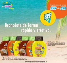 Bronceadores Caribbean Sunrise cosmetics
