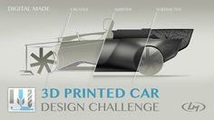 3d Printed Car Design Challenge - Time is Running Out!!