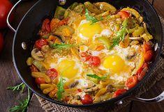 Cazuela de Huevos con Verduras Te enseñamos a cocinar recetas fáciles cómo la receta de Cazuela de Huevos con Verduras y muchas otras recetas de cocina.