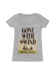 Look what I found from Out of Print! Gone with the Wind women's book t-shirt – Out of Print #OutofPrintClothing