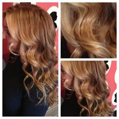 Hair on the Avenue: Colour by Kelly Betty and Style by Ramzi #hair #blonde #caramel #Toronto