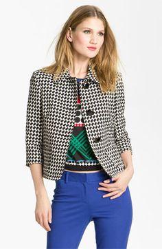 Trina Turk 'Kay' Tweed Jacket available at #Nordstrom