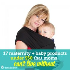 Great list of must-haves curated by BabyCenter moms for your baby registry and for your pregnancy.