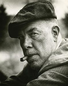 1973 photograph from the film Emperor of the North Pole of Lee Marvin who portrayed one of a group of hard-boiled men who made their reputations by way of the railroad during the Depression.
