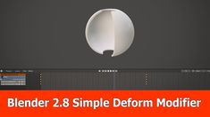Blender 2.8 Simple Deform Modifier