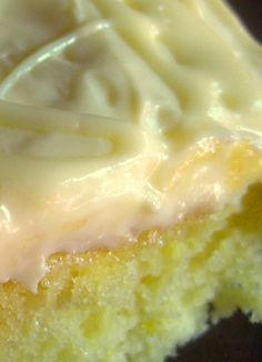 LEMON DROP Cake Plus a Little Frosting Secret. THIS CAKE IS SOOO GOOD!