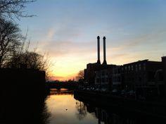 Bijzondere zonsondergang #Den-Haag