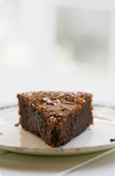 Chocolate fondant cake - a french classic.