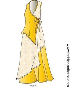 B6359 - Wrap Dress (Fun Jumper)