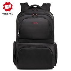 a29d69f1cee79 Tigernu Brand Waterproof 15.6 Inch Laptop Backpack Leisure School Backpacks  Bags mens backpack schoolbag for teenagers