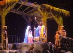 Everyone should experience an Opryland Hotel Christmas extravaganza! The year we went (Mother, Daughter and Granddaughter trip), we had the added bonus of a Rockettes Christmas Show at the Grand Ole Opryhouse. Christmas Stage Design, Church Christmas Decorations, Christmas Open House, Christmas Shows, Merry Christmas To You, Christmas Scenes, Christmas Nativity, Outdoor Christmas, Country Christmas