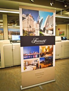 Twitter / LinxPrint: Retractable #banner promoting ...