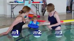 This is part two of a three step video series of the SwimWays Swim Steps process. Early childhood experiences in the water should be fun and easy. Usa Swimming, Swim Training, Water Safety, Learn To Swim, Confidence Building, Life Skills, Early Childhood, Mario, Success