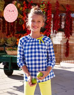 I've spotted this Pretty Woven Top 31756 Woven Tops at Boden Types Of Girls, Party Tops, Mini Boden, Egg Hunt, Sewing For Kids, Sewing Ideas, Cool Kids, Easter Eggs, Kids Outfits
