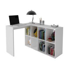 Mesa de Computador BC 45-06 BRV Móveis Branco
