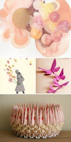 Inspiration for a Pink Colors Palette #Origami #HandsOffMyKielbasa #OPIEuroCentrale