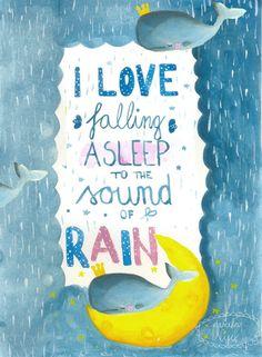 I ❤️ the rain!