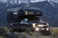 Combining the best in off-road driving, off-the-grid capabilities, and a modern & cozy interior, the EarthRoamer XV-LTS Adventure Camper($438K+...
