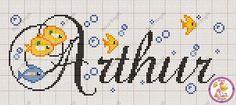 """Faz um tempinho que não posto o """"Nome do Dia"""" então hoje resolvi postar :D E o nome do dia é Arthur! No site abaixo têm vários gráficos com o nome."""