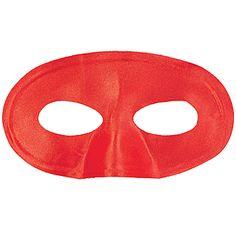 Red School Color Spirit Masks