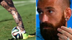 World Cup footballers tattoos decoded by the bbc featuring Portugal's Raul Meireles